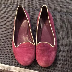Purple Suede cole haan flats - size 6